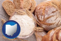 baked bakery bread - with OH icon