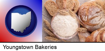 baked bakery bread in Youngstown, OH